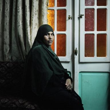 Abla Farok Ahmed. Cairo, Egypt. October 2011.